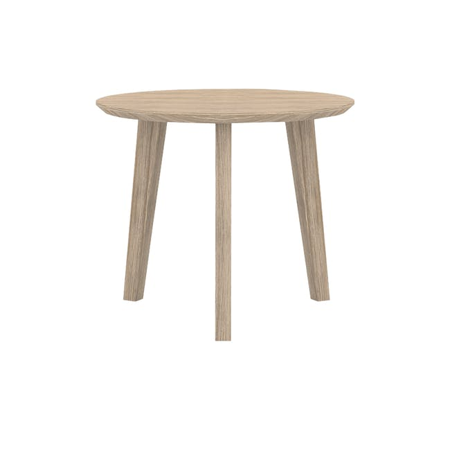 (As-is) Leland High Side Table - 0