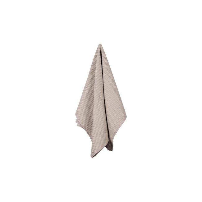 Tea Towel Single - Pebble - 0
