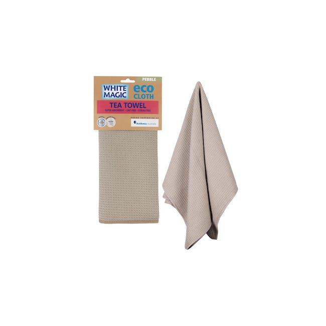 Tea Towel Single - Pebble - 1