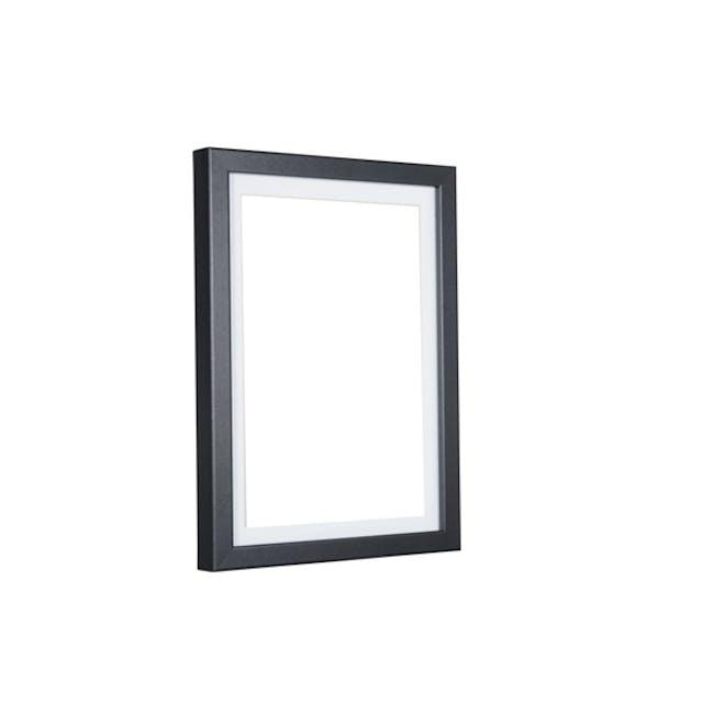 A4 Size Wooden Frame - Black - 0