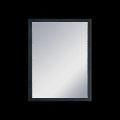 Hosta Half-Length Mirror 30 x 40 cm - Black - Image 2