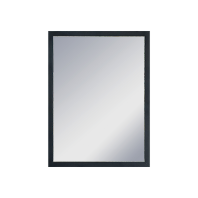 Hosta Half-Length Mirror 30 x 40 cm - Black - Image 1
