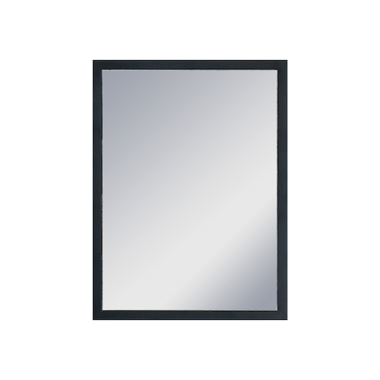 Helga hosta half length mirror 30 x 40 cm black hipvan for Mirror 50 x 30