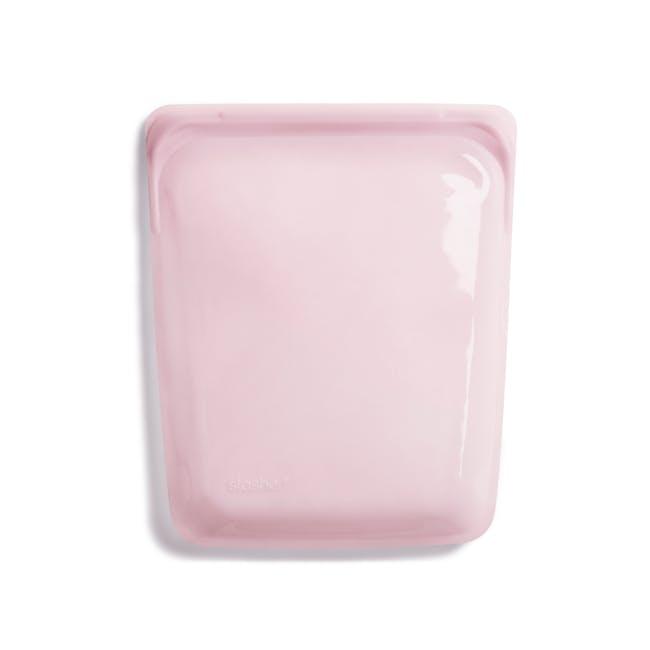 Stasher Reusable Silicone Bag - Half Gallon - Rose Quartz - 1