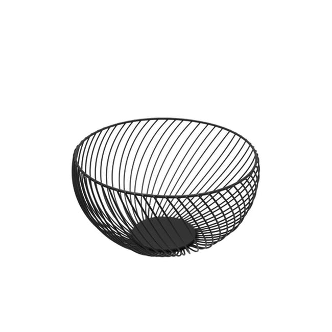 Rhea Wire Basket - Black - 0