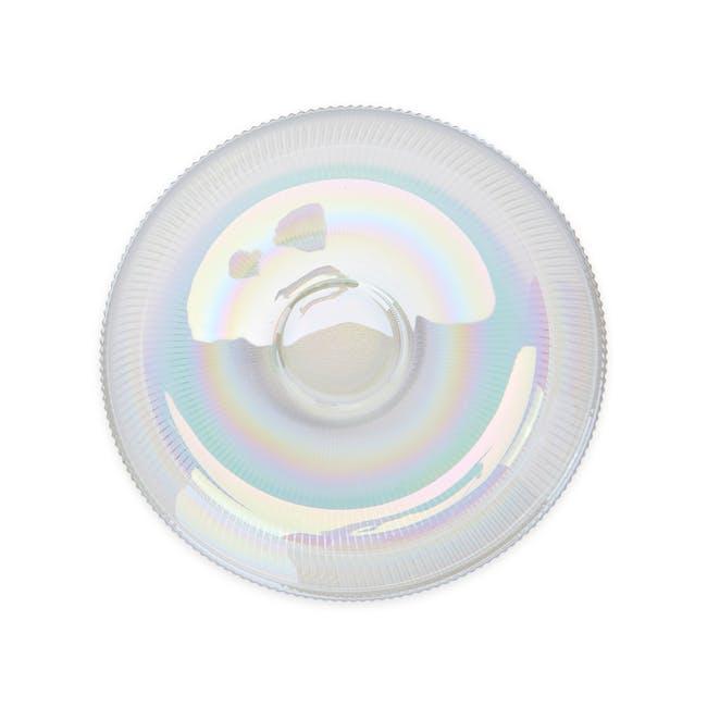 Reagan Glass Fruit/Display Bowl - Iridescent - Large - 1
