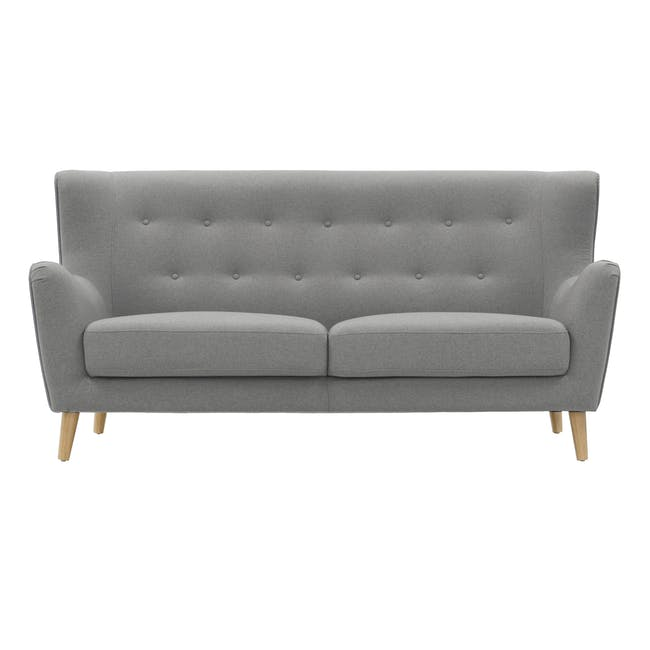 Jacob 3 Seater Sofa - Slate - 0