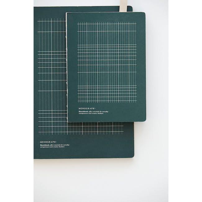 Geo Notebook - Plain Paper - Large - 2