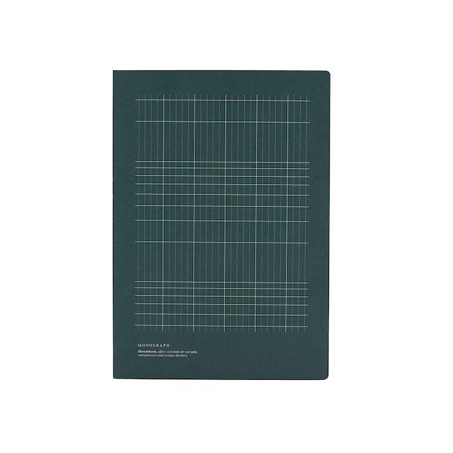 Geo Notebook - Plain Paper - Large - 0