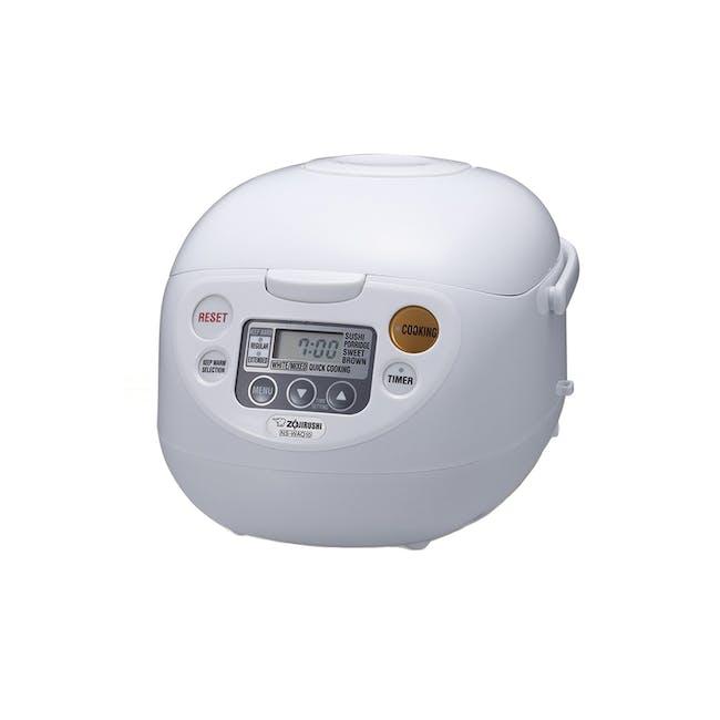 Zojirushi MICOM Rice cooker NS-WAQ - Classic White (2 Sizes) - 0