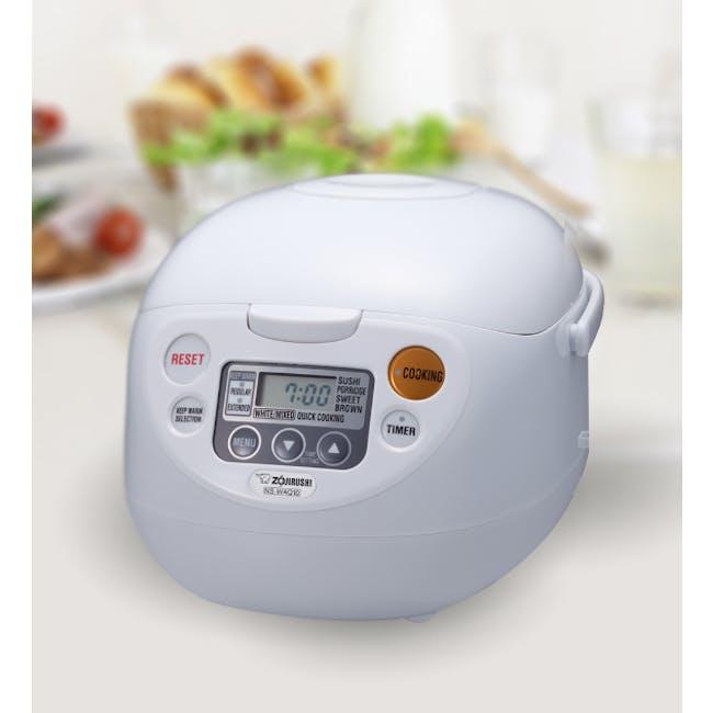 Zojirushi MICOM Rice cooker NS-WAQ - Classic White (2 Sizes) - 1