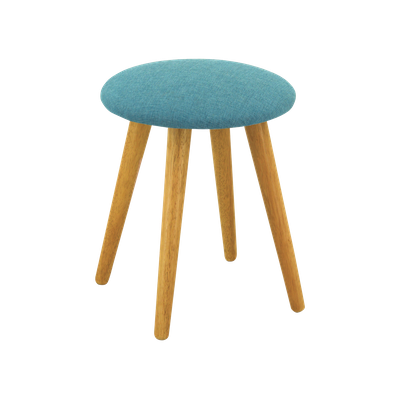 Poppy Stool - Natural, Parsley - Image 2