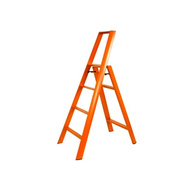 Hasegawa 4 Step Aluminium Ladder – Orange - Image 2