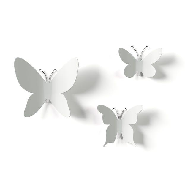 Mariposa Butterflies Wall Decor (Set of 9) - 2