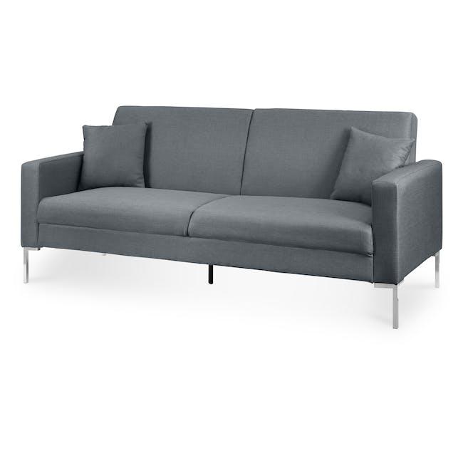 Leslie Sofa Bed - Hailstorm (Fabric) - 3