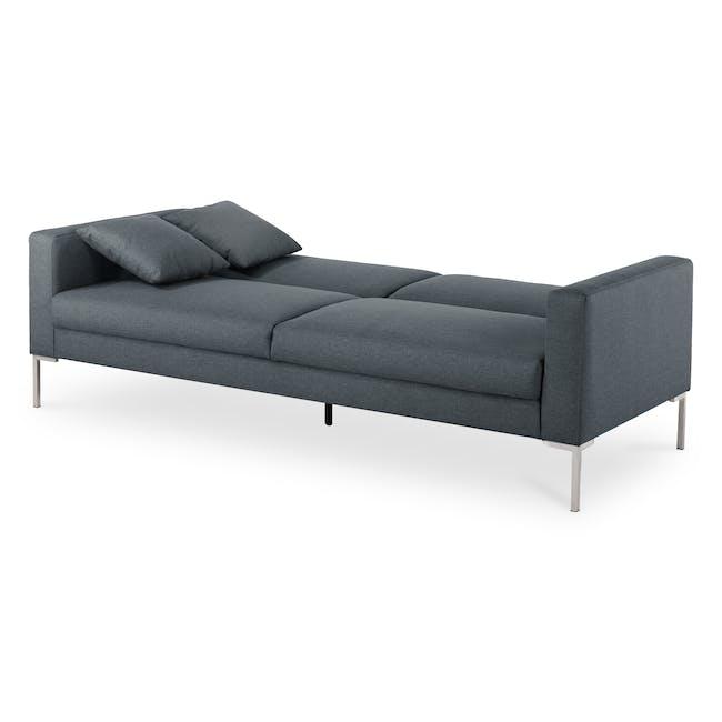 Leslie Sofa Bed - Hailstorm (Fabric) - 6
