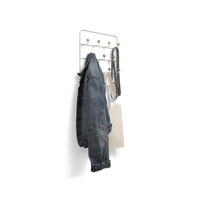 Estique Over-the-Door Organiser - White, Natural - 4
