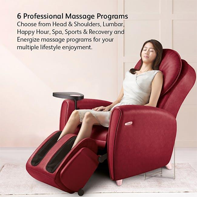 OSIM uDiva 2 (Enhanced with Side Table) Massage Sofa - Maroon - 5