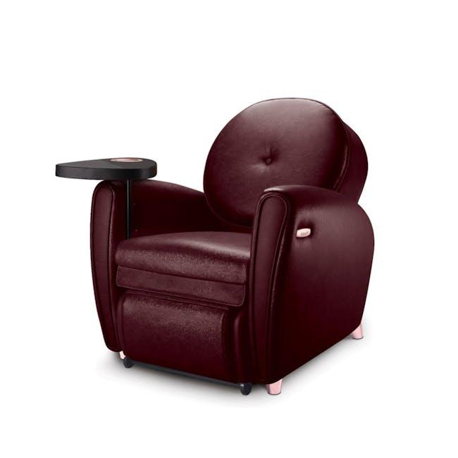 OSIM uDiva 2 (Enhanced with Side Table) Massage Sofa - Maroon - 0