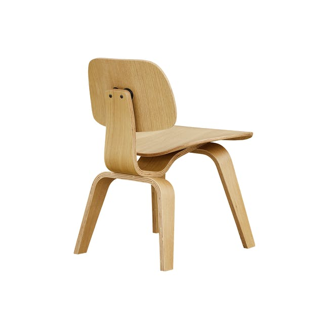 Eames Molded Plywood Dining Chair Replica - Oak - 3