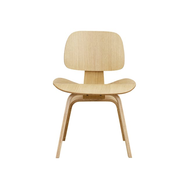 Eames Molded Plywood Dining Chair Replica - Oak - 1