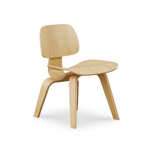 Eames Molded Plywood Dining Chair Replica - Oak - 0