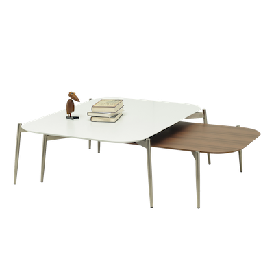 Nova High Coffee Table with Nova Low Coffee Table - Image 2