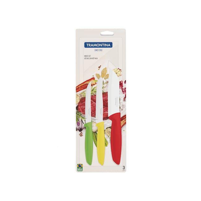 Plenus 3-Pc Knife Set - 1