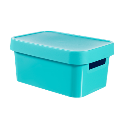 Infinity Box + Lid - Blue - Image 1
