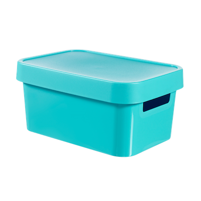 Inifinity Box + Lid - Blue - Image 1