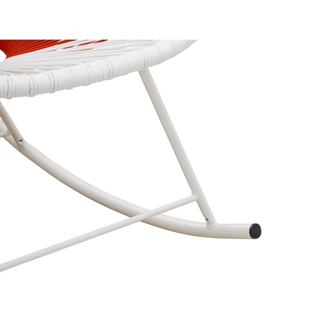 Acapulco Rocking Chair - Blue, White, Red Mix - 5