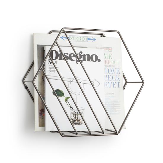 Umbra - Zina Magazine Rack & Record Holder