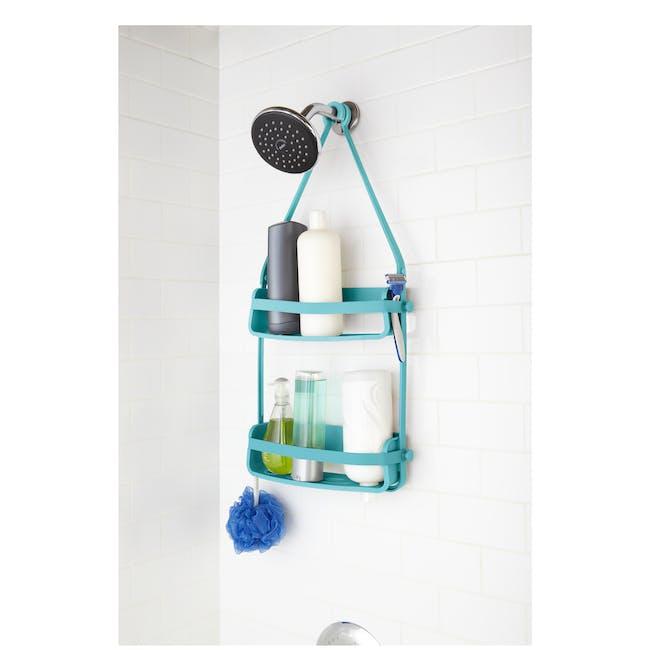 Flex Shower Caddy - Surf Blue - 1