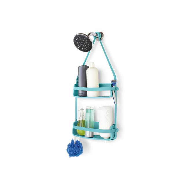 Flex Shower Caddy - Surf Blue - 0