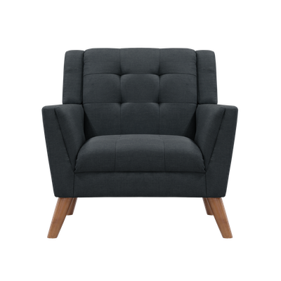 (As-is) Stanley Armchair - Granite - 1 - Image 1