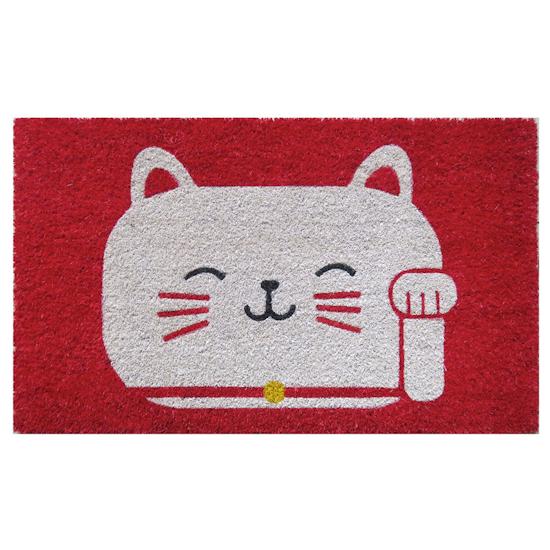 Mats Matter - Fortune Cat Coir Door Mat