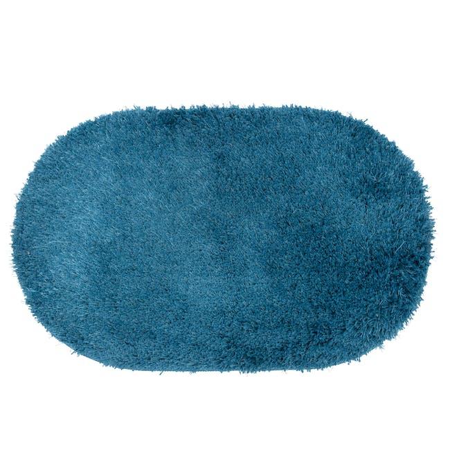 Harper Floor Mat - Turquoise - 0