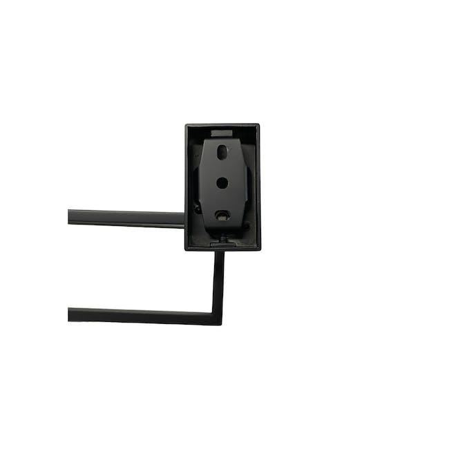 JVD Argo Black Towel Ring - 1