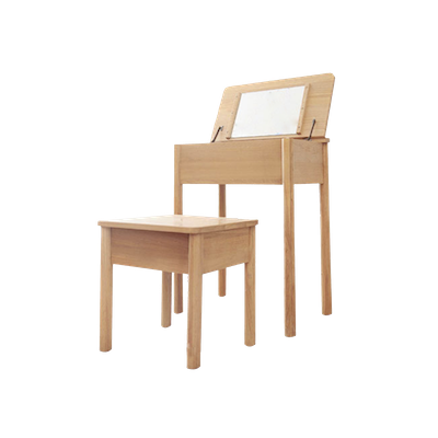 Bella Dressing Table with Storage Stool - Image 1