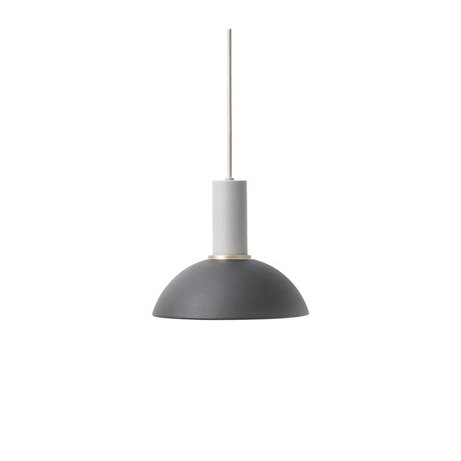 Addison Pendant Lamp - Light Grey, Black - 0