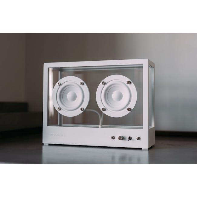 Small Transparent Speaker - White - 2