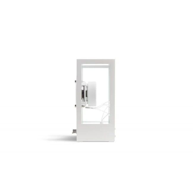 Small Transparent Speaker - White - 4