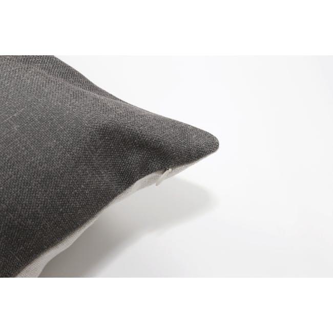 Throw Cushion - Granite Grey - 1