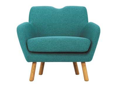 Joanna 1 Seater Sofa - Nile Green