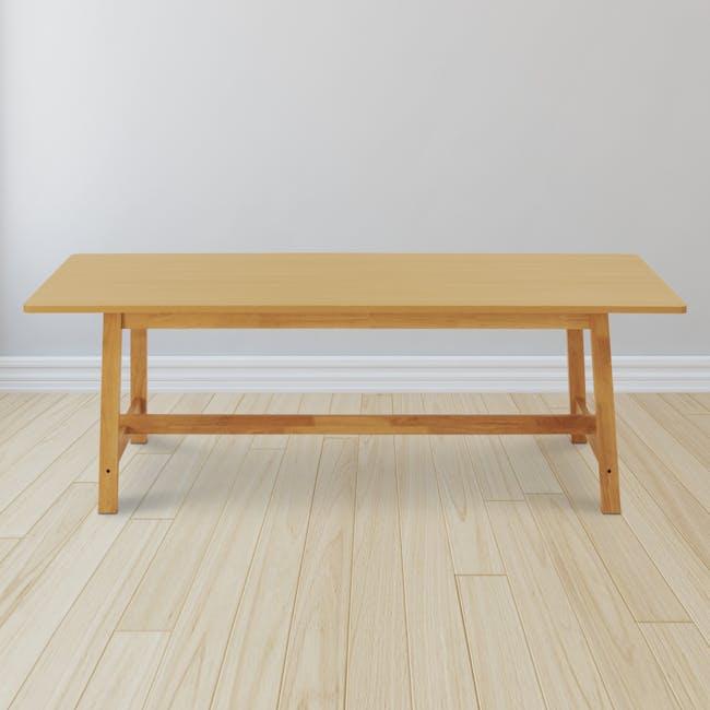Haynes Table 2.2m - Oak - 2
