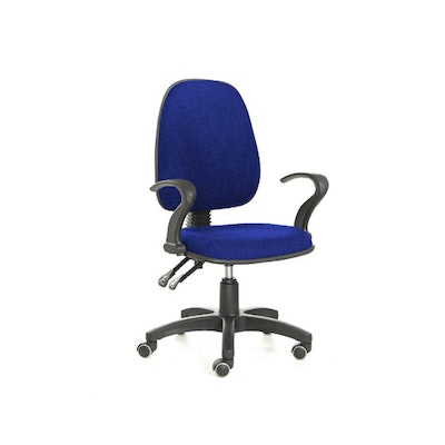 Uffico Lowback Office Chair -  Royal Blue - Image 1