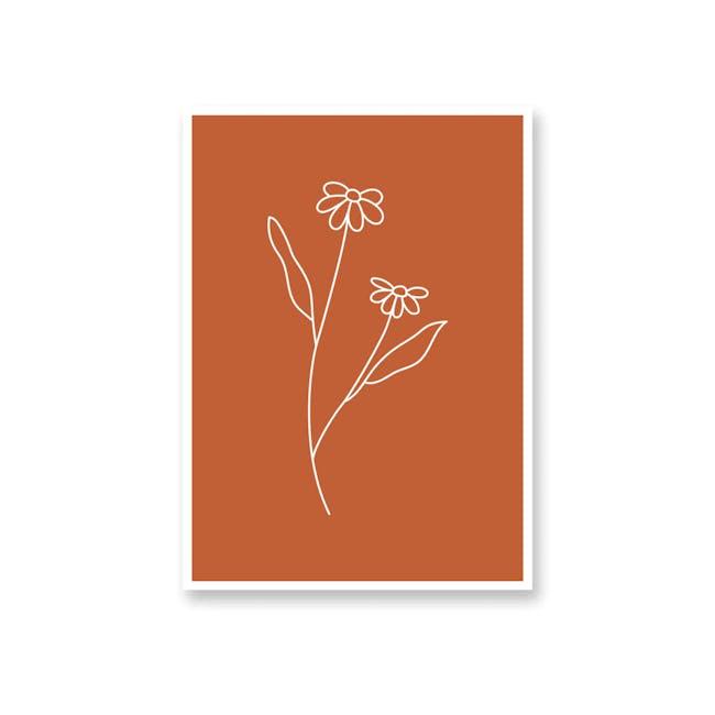 Borderless Positive Art Print on Paper (2 Sizes) - Daisy - 0