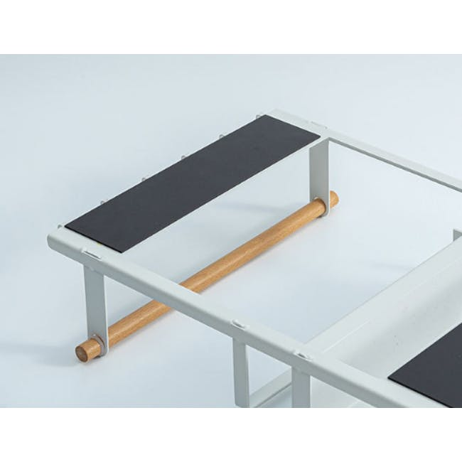 Cyril Magnetic Rack - White - 3
