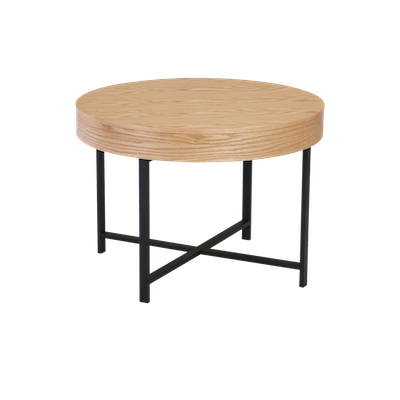 Yuri Storage Coffee Table - Oak - Image 2