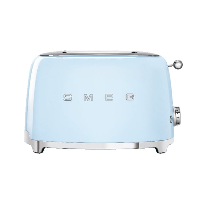 Smeg 2-Slice Toaster -Pastel Blue - 0